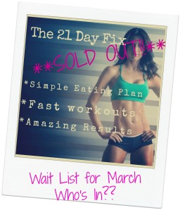 21 Day Fix March