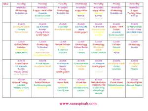 Meal Plan 21 Day Fix 2