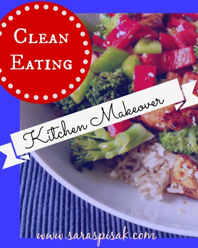 clean eating kitchen makeover